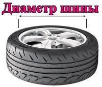 Подбор шин по диаметру