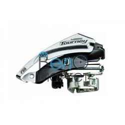 Передній перемикач Shimano Tourney FD-TY500 універсальна тяга, 6/7 швидкостей, діаметр хомута 28.6/34.9