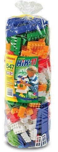 Конструктор для малышей с большими блоками на 547 деталей Ник - 11,  Юника Украина 0989