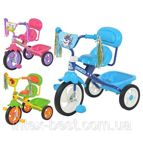 Трехколесный велосипед M 1659P (Розовый)