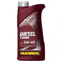 Моторное масло Mannol Diesel Turbo 5W40 1L