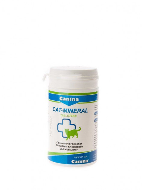 Canina Cat Mineral Tabs (поливитаминный комплекс для котов) 75 г (150 табл.)