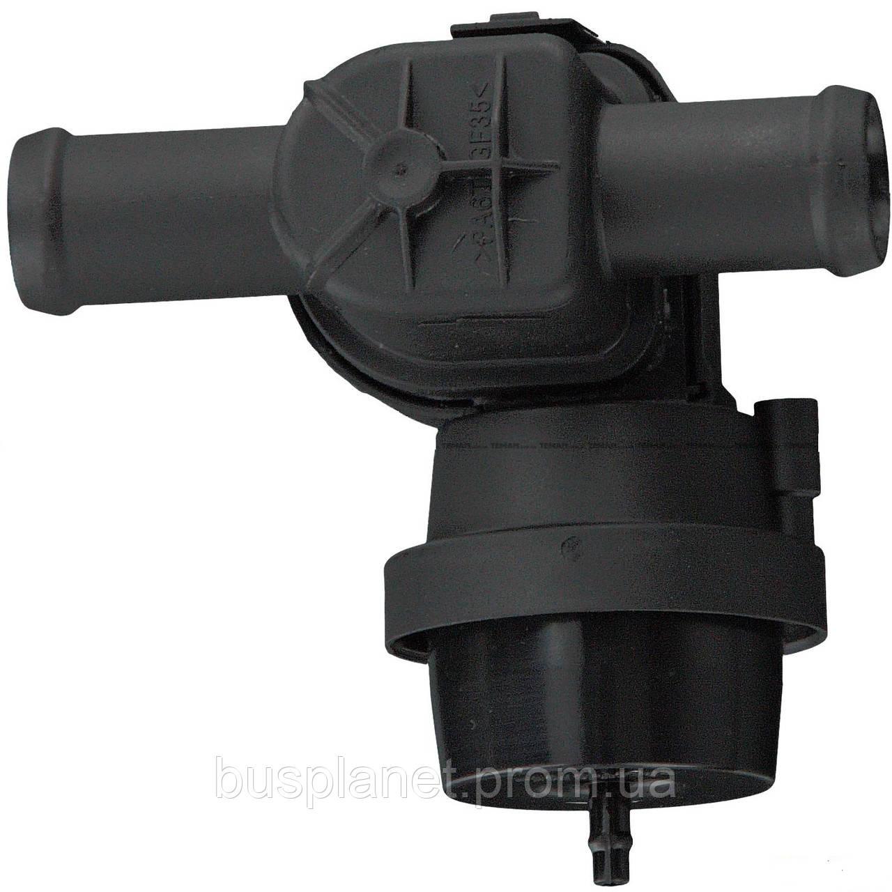 Кран печки (регулирующий клапан охлаждающей жидкости)