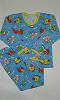 Пижамы детские р.28,30, х/б 100%.От 4шт по 39грн