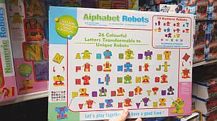 """Игрушечные роботы-трансформеры """"Алфавит"""" 500-22, английский язык, фото 2"""