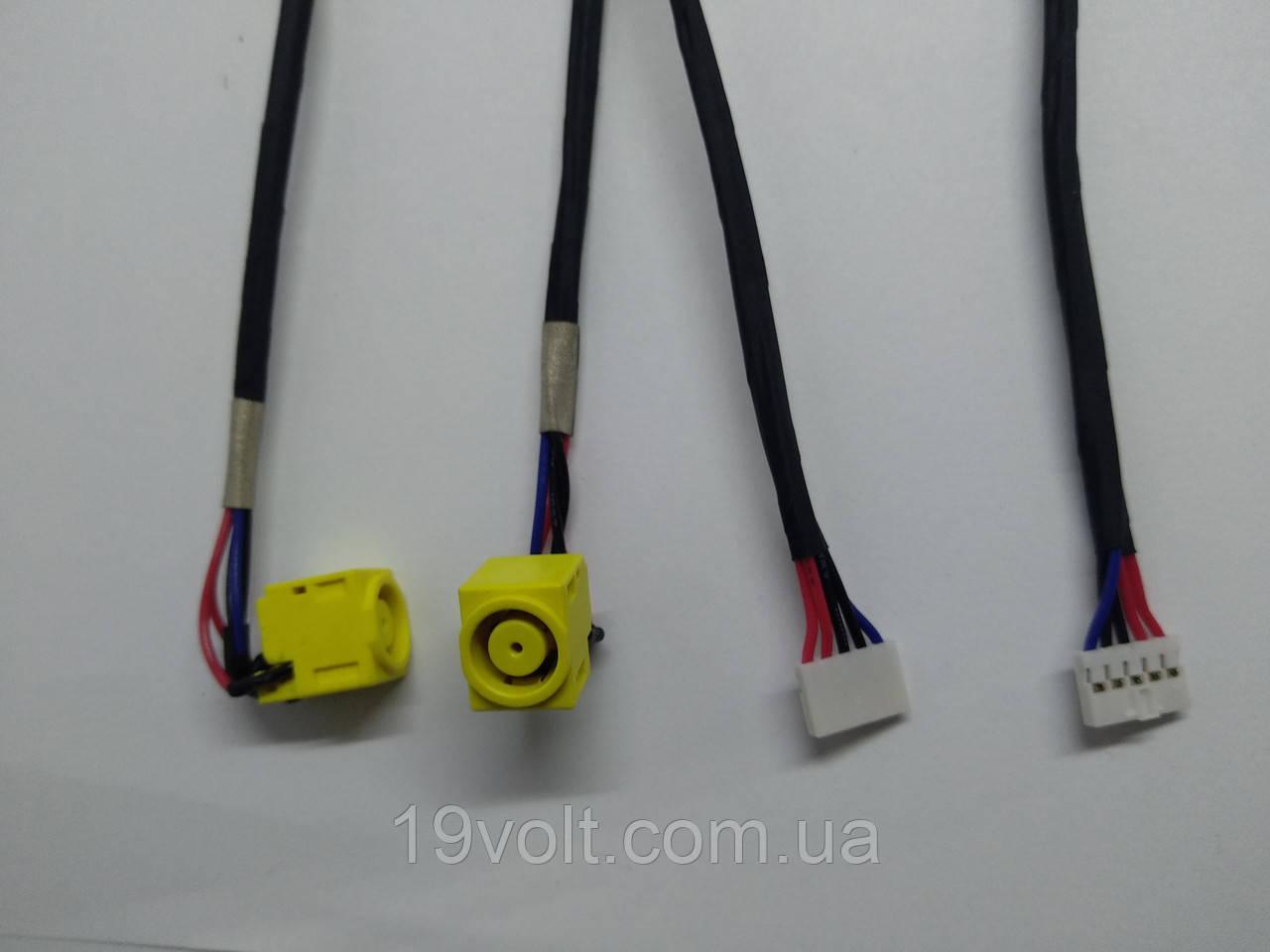 Разъем питания с кабелем для Lenovo B590