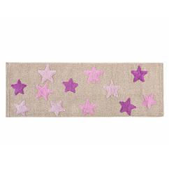 Коврик в детскую комнату Irya - Star lila лиловый 50*150