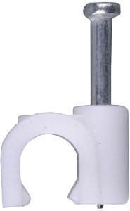 Скоба для кабеля 6 мм (упаковка 200 шт.)