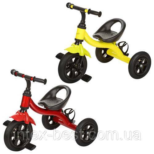 Трехколесный велосипед M 2382A-G (Салатовый)