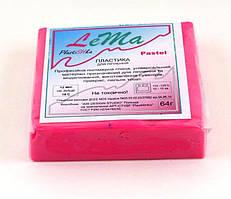 """Полимерная глина """"Lema"""" - пастель, брусок 64 граммa, №0616 Ягідний шейк"""