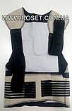 Турмалиновый корсет-корректор осанки Real Doctors с магнитами, фото 3