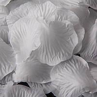 Лепестки роз искусственные 550 шт Белые