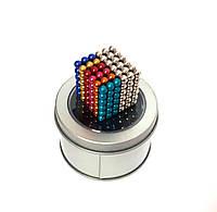 Головоломка Neocube Неокуб Комбо 3 [5мм * 216 шариков] + Коробка + мешочек  в Подарок. 7 цветов!