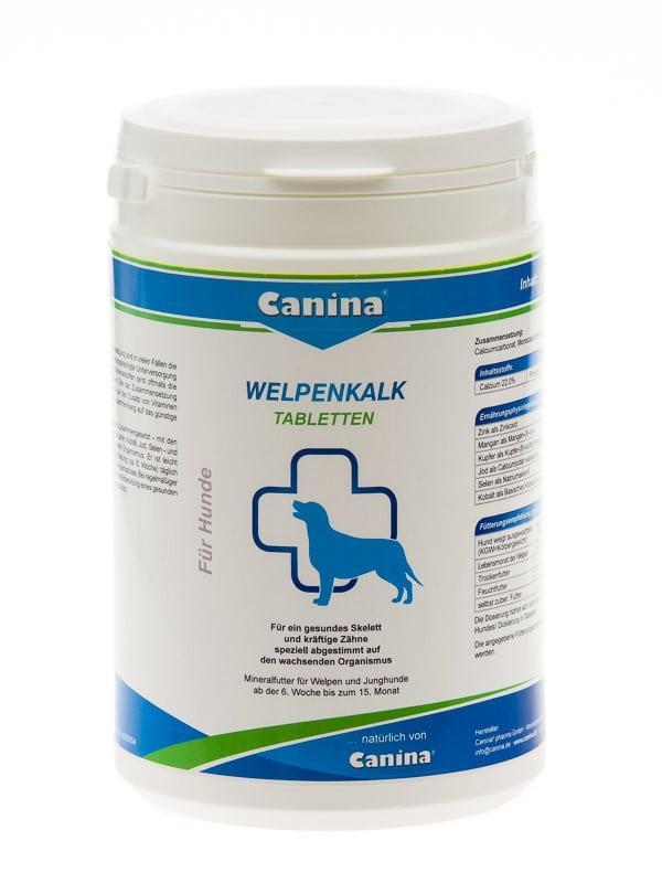 Welpenkalk- Вельпенкальк в таблетках для щенков 150 г (150 табл)