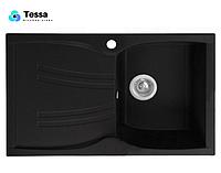 Мойка кухонная гранитная Tessa Briz черная 48002