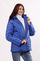 Голубая куртка женская осень-весна 32-72, фото 3