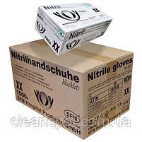 Рукавички чорні нітрилові Nitrile Blacklets 100 шт. в упаковці розмір L, фото 3