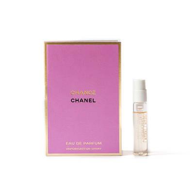 ПРОБНИК женские духи CHANEL Chance 2ml парфюмированная вода, нежный цветочный шипровый аромат ОРИГИНАЛ