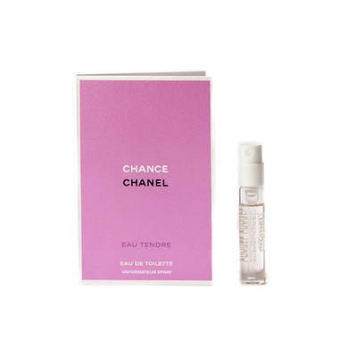 Пробник 1,5ml оригинальных духов CHANEL Chance Eau Tendre (Шанель Шанс Тендер) женская туалетная вода