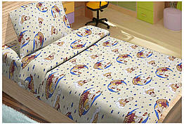 Комплект постельного белья для младенцев Lotus ранфорс  TOBI ЖЕЛТЫЙ (svk-4557)