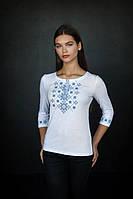 Жіноча футболка вишиванка з довгим рукавом, арт. 5128