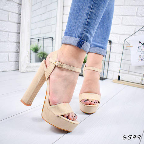 04b447e6f Босоножки на каблуке, сандалии бежевые