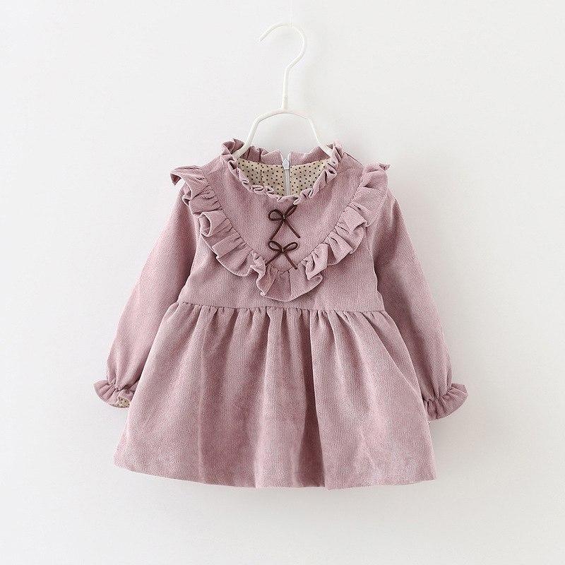 Детское платье из микровельвета размер 92.
