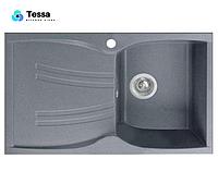 Мойка кухонная гранитная Tessa Briz серая 49003