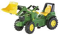 Педальный трактор Rolly Toys Farmtrac John Deere 710027