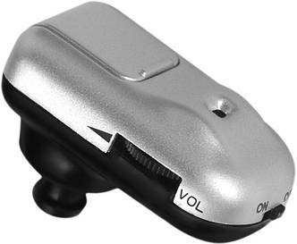 Слуховой аппарат - Усилитель звука MICRO PLUS, серебристый