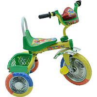 Трехколесный велосипед Profi Trike B 2-1 / 6010G (Зеленый)