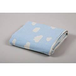 Детский плед-накидка Barine - Cloud Throw Blue 130*170