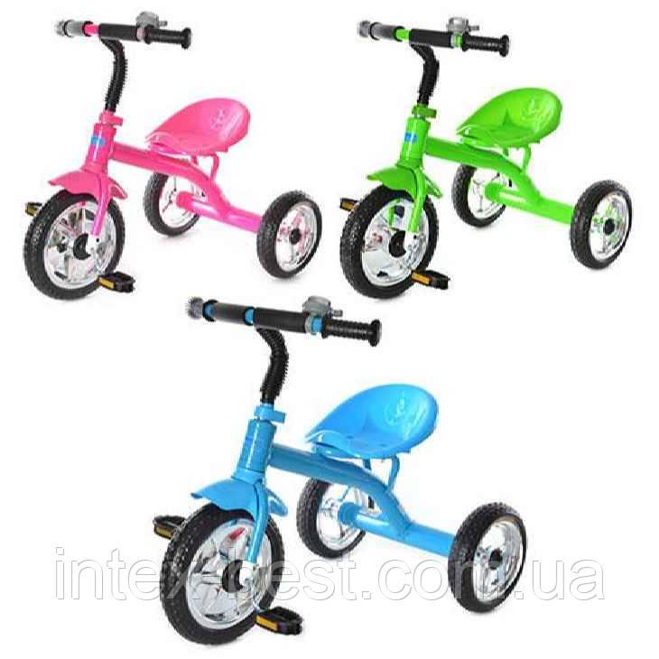 Детский трехколесный велосипед Bambi М 2101P (Розовый)