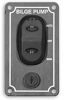 Вертикальный водонепроницаемый выключатель для трюмной помпы с автоматическим и ручным режимом
