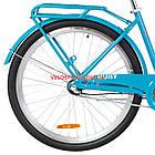 Городской велосипед Dorozhnik Ruby PH 26 дюймов лазурный, фото 6