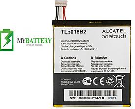Оригинальный аккумулятор АКБ батарея для Alcatel 7025D Snap/ 6030D/ TLp018B2 1800 mAh 3.8 V