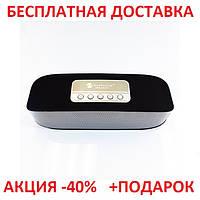 Портативная переносная колонка New Rixing NR-2014 2*3W Bluetooth BLACK акустика беспроводная мобильная       , фото 1