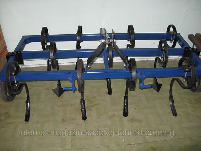 Культиватор пружинный КУП-1,6 для минитрактора, трактора