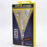 Наушники змейка Zipper, фото 1