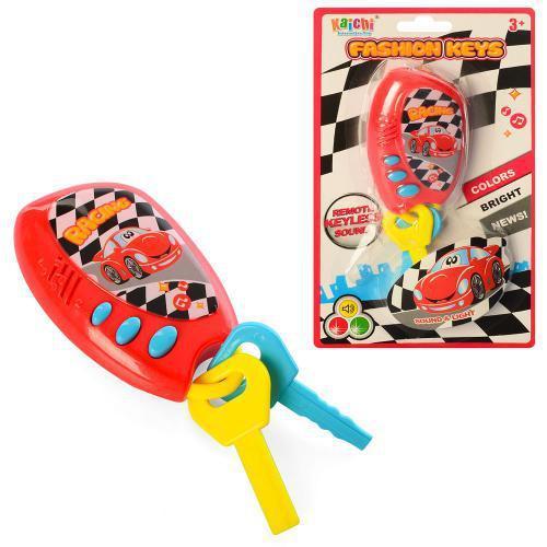 Детская развивающая игрушка БРЕЛОК  с сигнализацией и ключами 3311 Metr plus