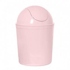 Ведро для мусора настольное, Bucket розовое 15*20см