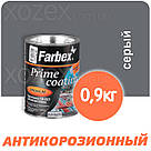 "Грунтовка ""farbex Фарбекс ГФ-021"" антикоррозийная Серая - 2,8кг, фото 2"