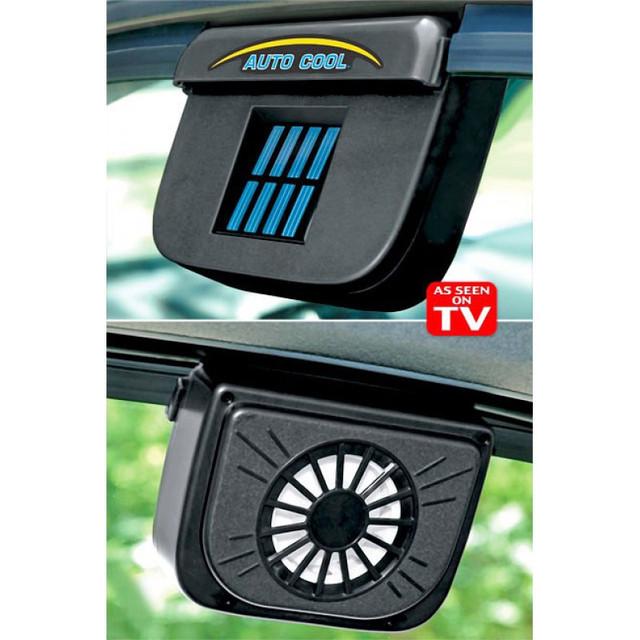 Авто вентилятор Auto Cool на солнечной батарее