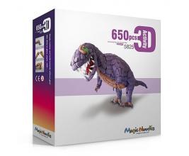 Развивающий мягкий конструктор для детей Magic Nuudles 650 деталей