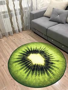 Ковер 3D Киви, диаметр 120 см Kiwi