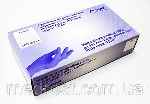 200шт Перчатки нитриловые неопудренные IGAR р.XS