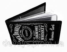 Визитница Jack Daniels