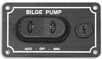 Горизонтальный водонепроницаемый выключатель для трюмной помпы с автоматическим и ручным режимом