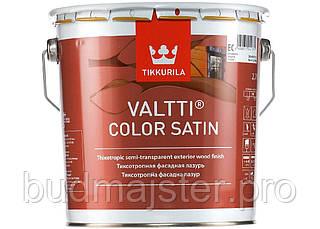 Засіб Tikkurila Валті Колор сатін безбарвний ЄС, 0,9 л
