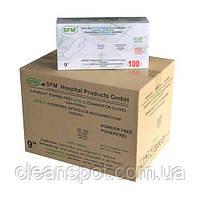 Перчатки белые нитриловые Nitrile Supersoft 100 шт. в упаковке размер XS, фото 3